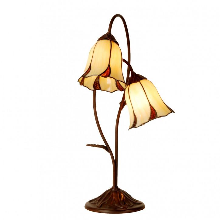 Tischlampe im Tiffany Stil 33x61cm
