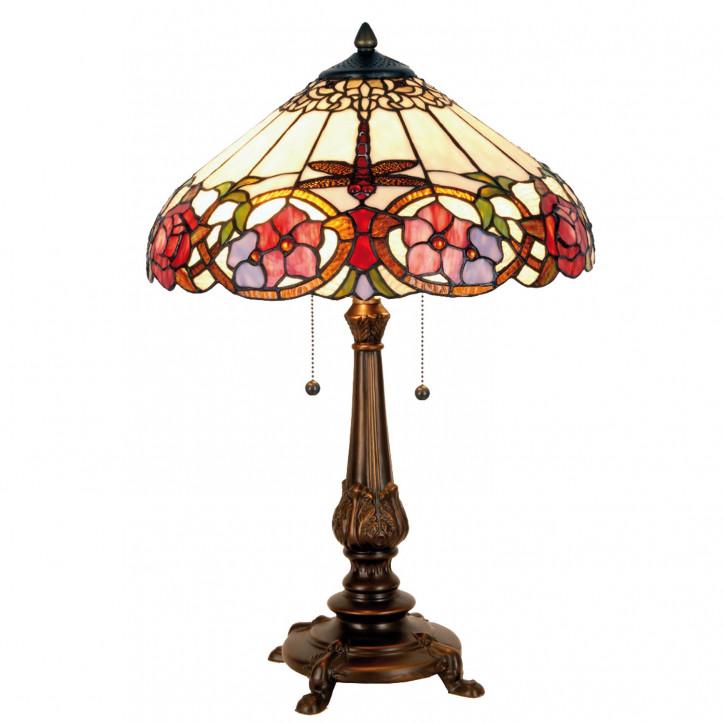 Tischlampe im Tiffany Stil 40x63cm