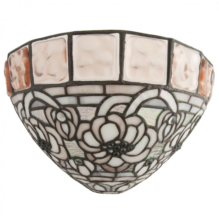 Wandlampe im Tiffany-Stil 30x19cm