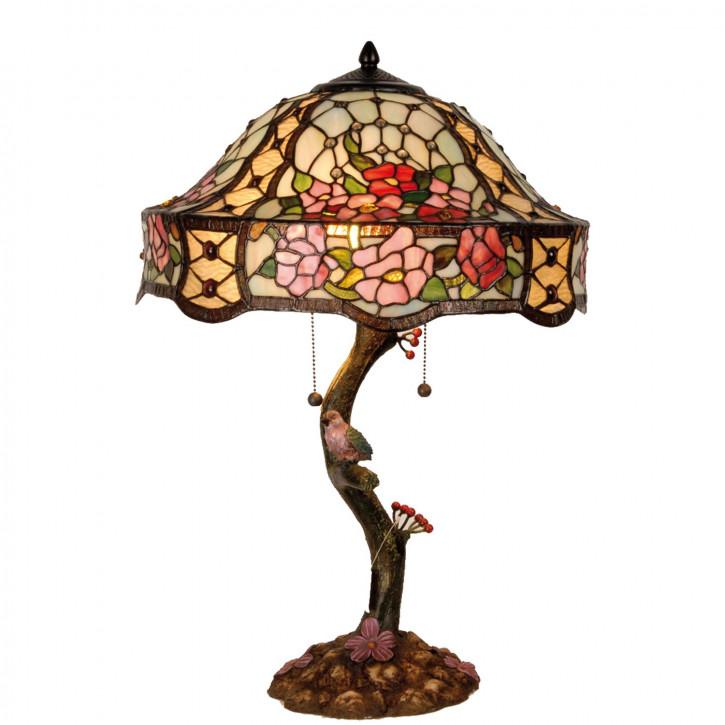 Tischlampe Tiffany Ø 45x62 cm E27/max 3x60W