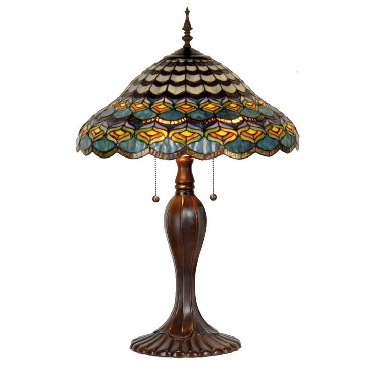 Tischlampe Tiffany-Stil ca. Ø 50 cm