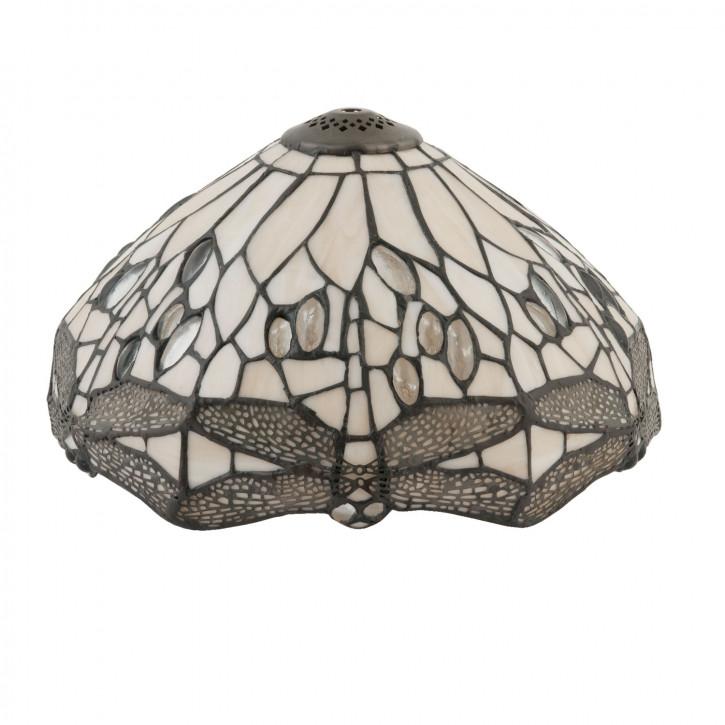 Lampenschirm Tiffany-Stil ca. Ø 30cm Steinlibelle