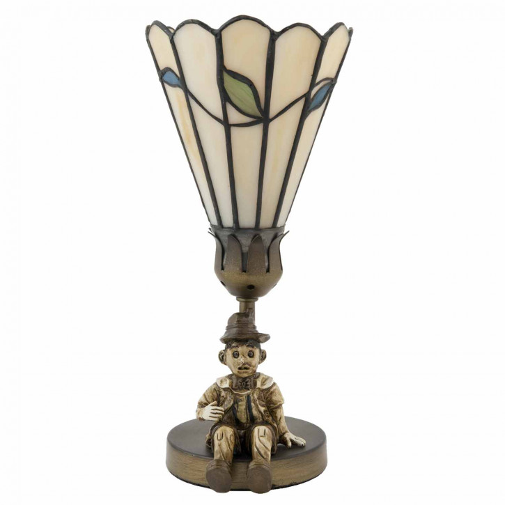 Tischlampe Tiffany-Stil ca. Ø 12,5 cm
