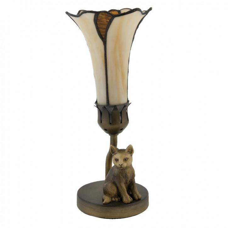 Tischlampe im Tiffany Stil 12,5x27cm