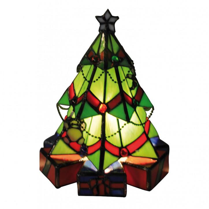 Wandlampe im Tiffany-Stil Weihnachtsbaum 20 x 26 cm