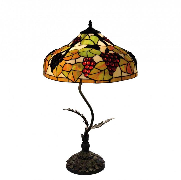 """Tischlampe im Tiffany Stil """"Dionysos"""""""