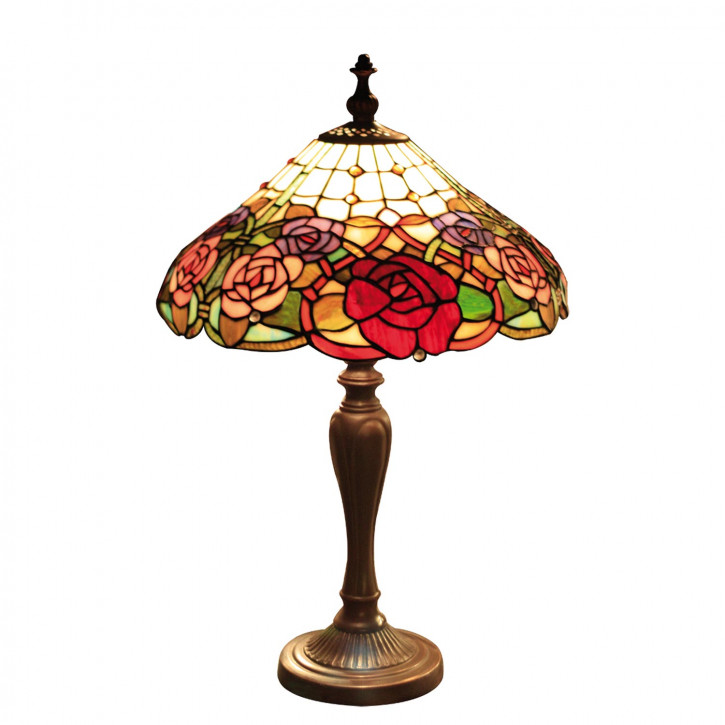 Tischlampe im Tiffany Stil 40x55cm
