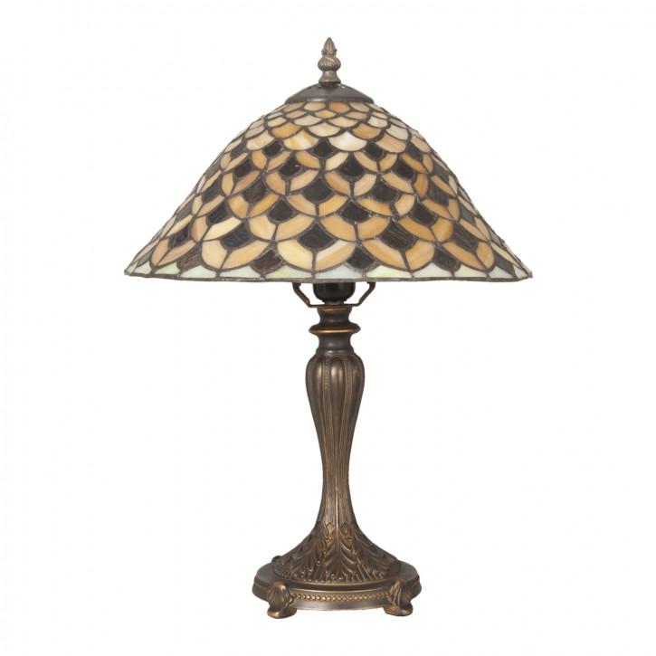Tischlampe im Tiffany Stil 31x45cm