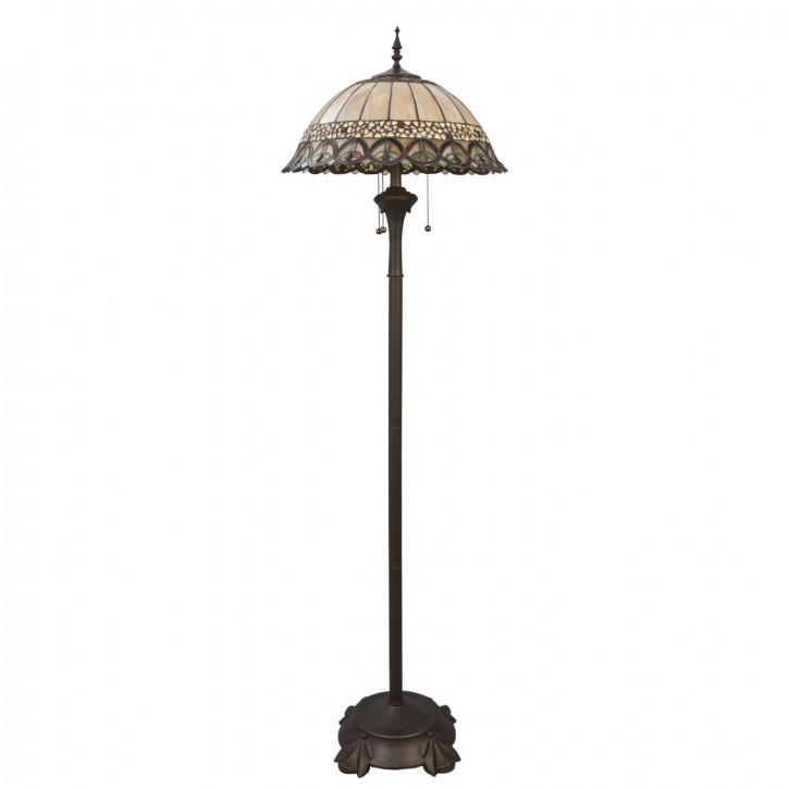 Stehlampe Tiffany Ø 50x165 cm E27/max 3x60W