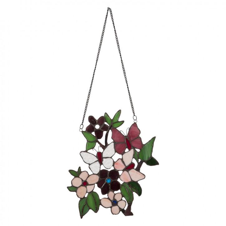 Tiffanyfenster Blumen