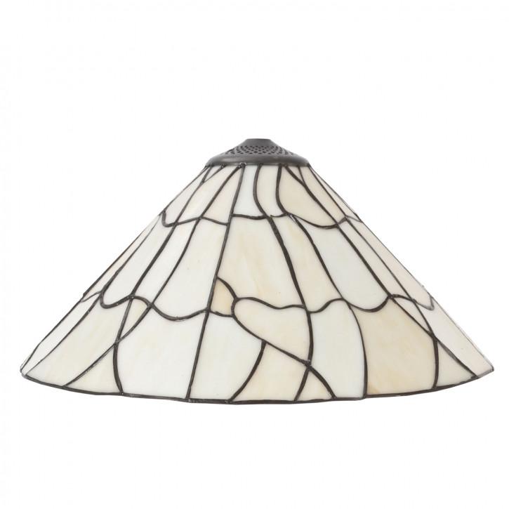 Tiffany Lampenschirm ca. Ø 40cm Liniengewirr
