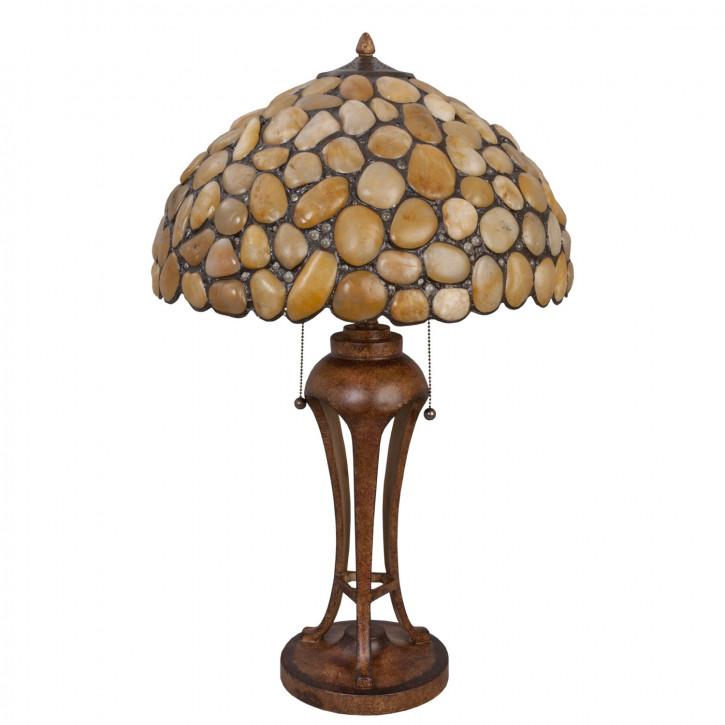 Tischlampe Tiffany Ø 47x78 cm E27/max 2x60W
