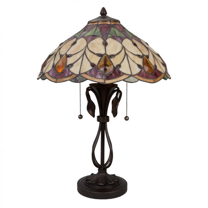 Tischlampe Tiffany 58xØ51cm