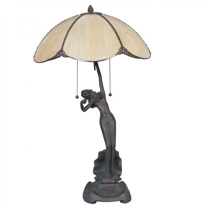 Tischlampe Tiffany Ø 41x70 cm E27/max 2x60W