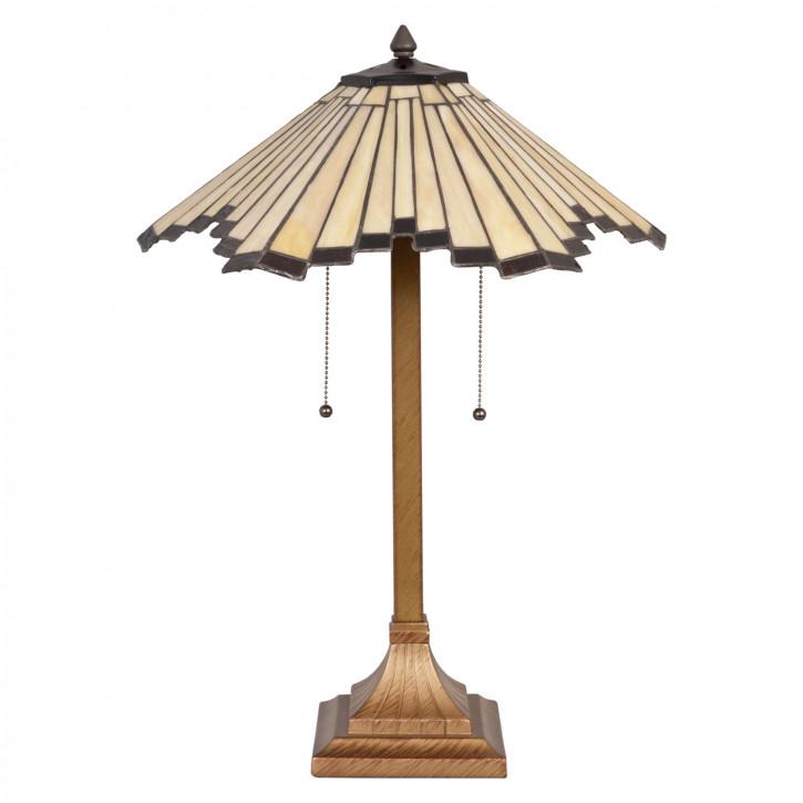 Tischlampe Tiffany Ø 45x64 cm E27/max 2x60W