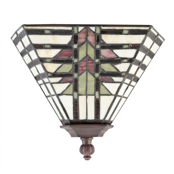 Wandlampe im Tiffany-Stil 15 x 33 cm