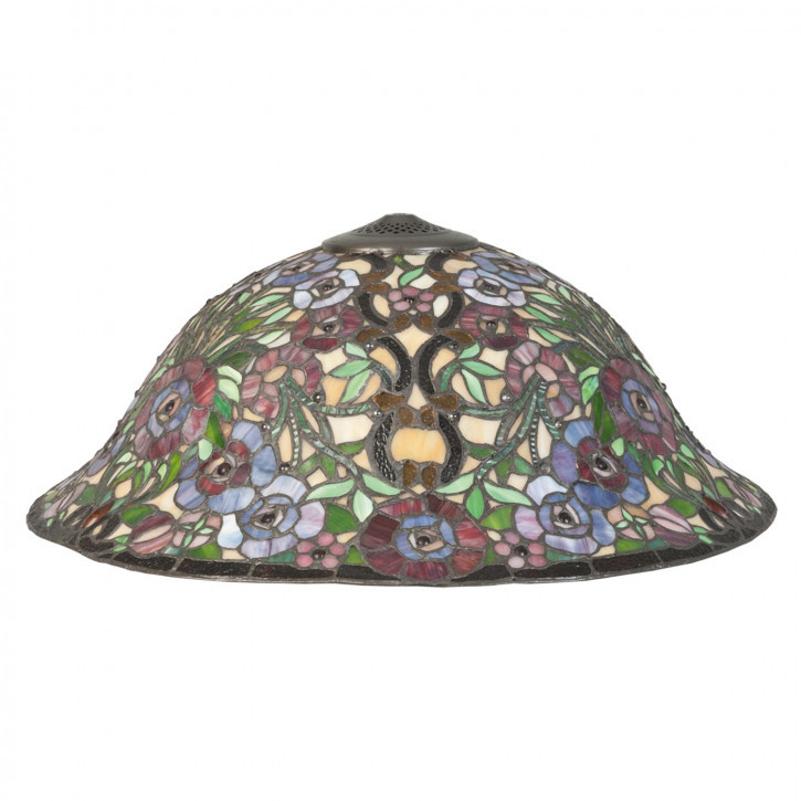 Lampenschirm Tiffany-Stil ca. 22 x Ø 57cm