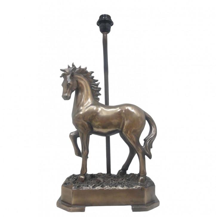 Lampenfuß Pferd ca. 23 x 50 cm E27 Max. 60W
