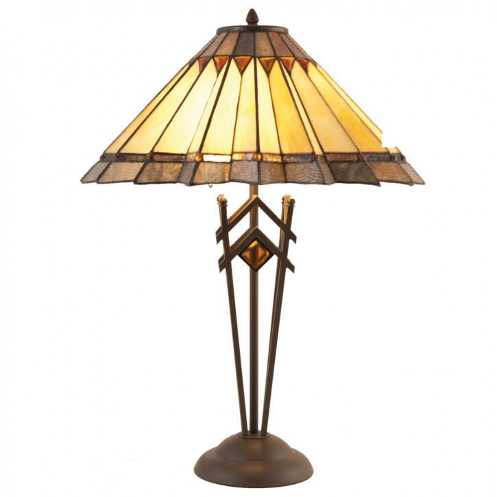 Tischlampe im Tiffany-Stil Ø 56*76 cm