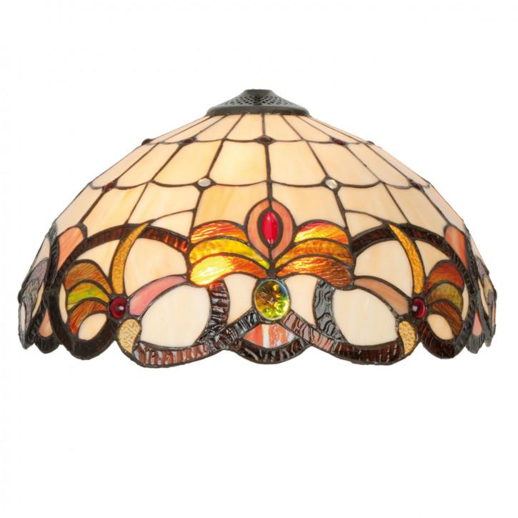 Lampenschirm Glasschirm Tiffany-Stil ca. Ø 40 cm