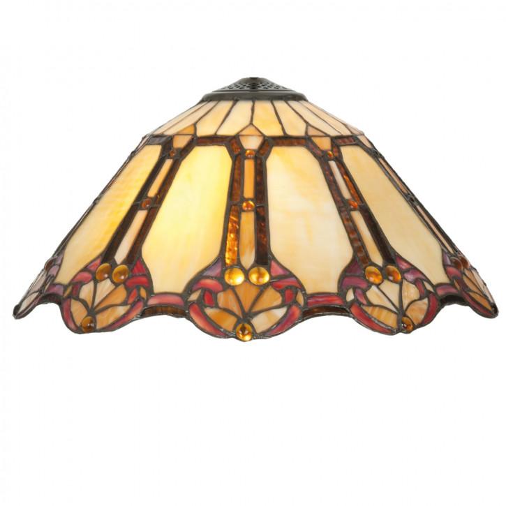Lampenschirm Glasschirm Tiffany-Stil ca. Ø 45 cm