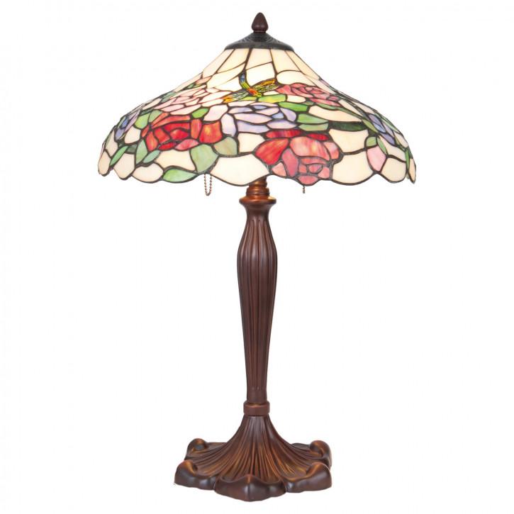 Tischlampe Tiffany Ø 40x60 cm E27/max 1x60W