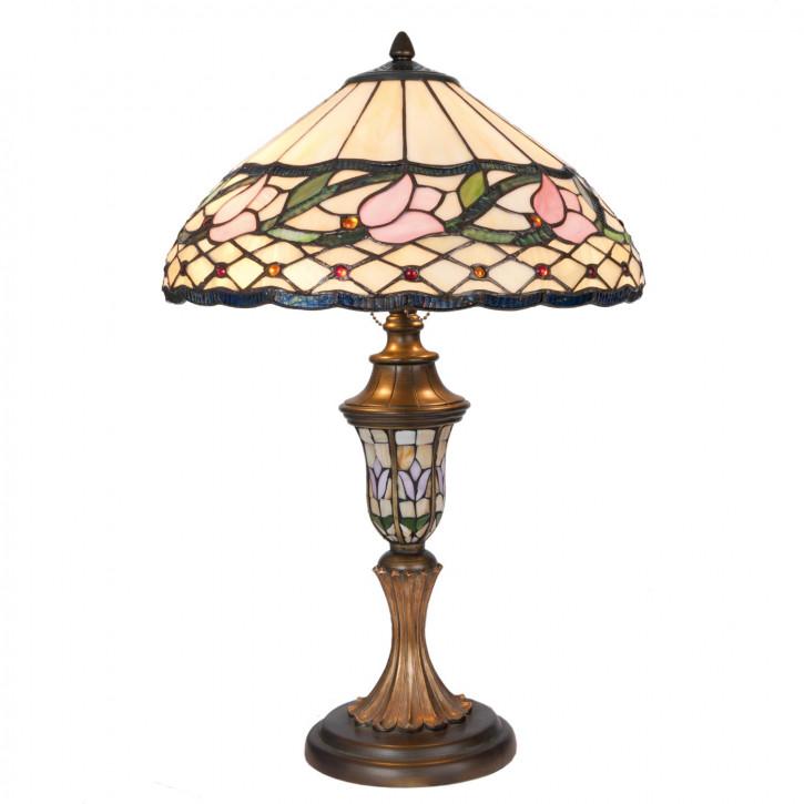 Tischlampe Tiffany-Stil ca. Ø 40 x 60 cm
