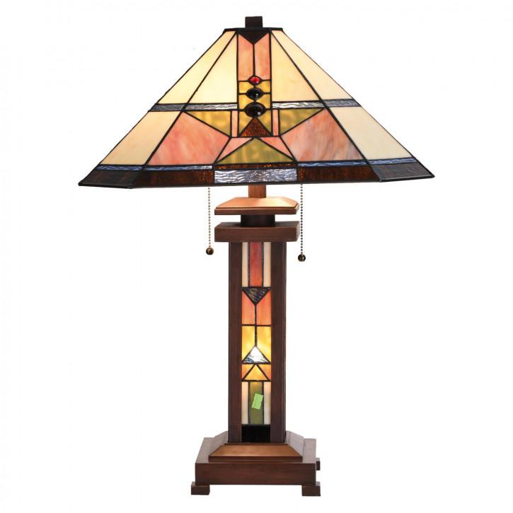 Tischlampe Tiffany-Stil ca. 42 x 60 cm