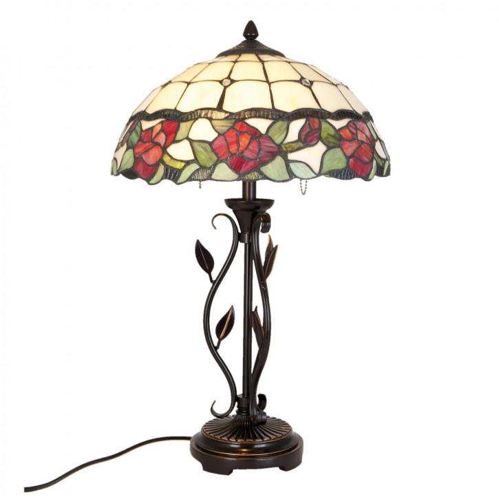 Tischlampe Tiffany Ø 35x61 cm E27/max 2x60W