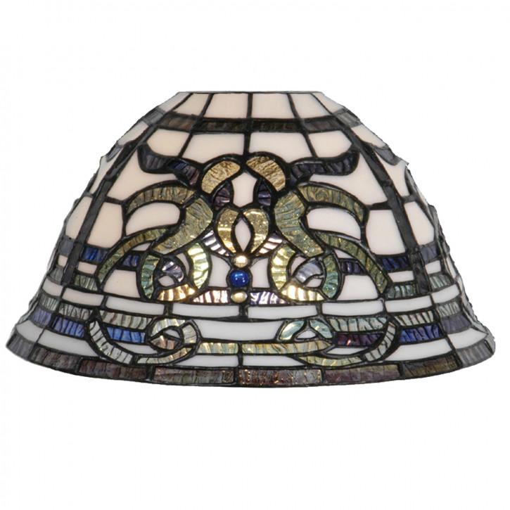 Tiffany Lampenschirm Glasschirm 12 x Ø27cm