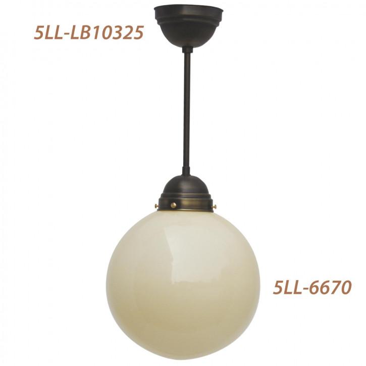 Lampenschirm kugelförmig creme 30 * Ø 30 cm,KH 10cm