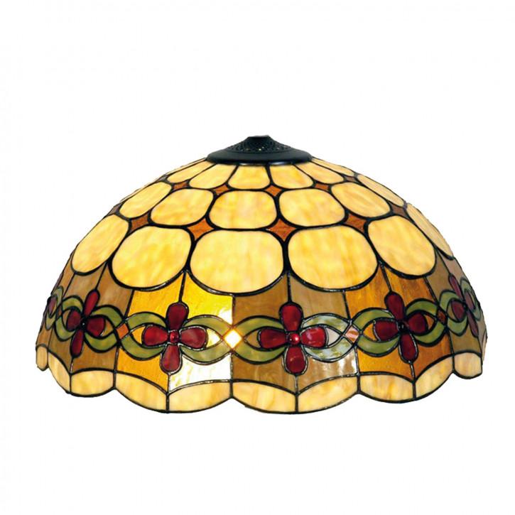 Lampenschirm Tiffany-Stil ca. Ø 40cm Blumenband