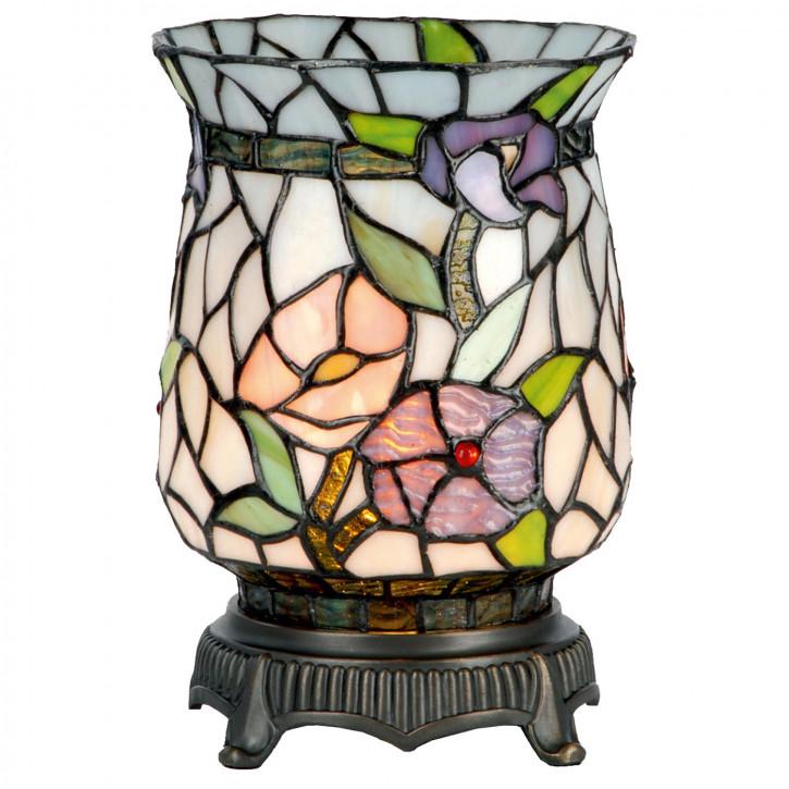 Windlicht im Tiffany Stil 16x23cm