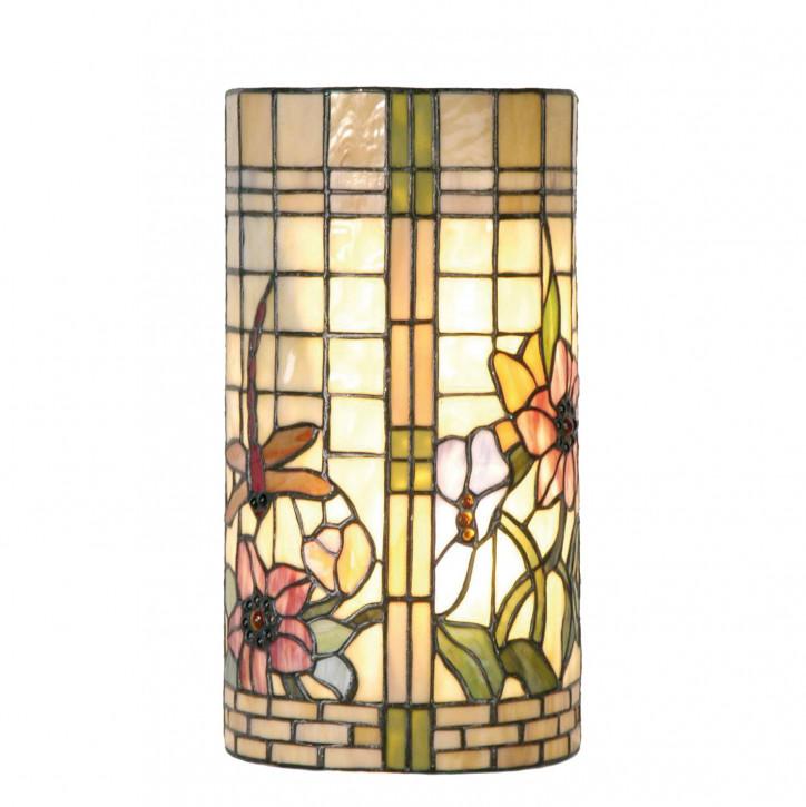 Wandlampe im Tiffany-Stil 35x18cm Asiatischer Garten