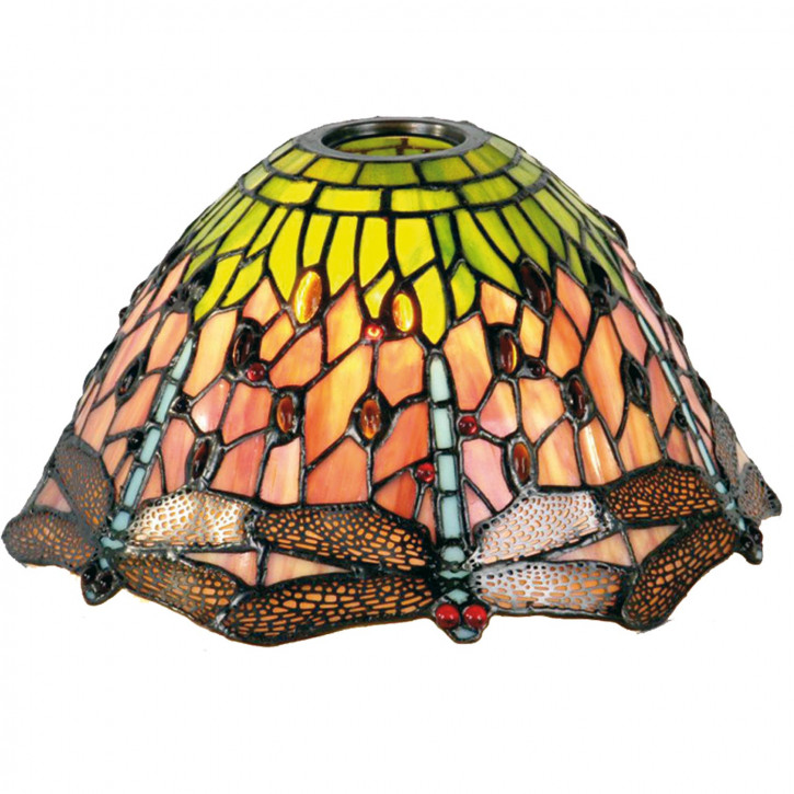 Tiffany Lampenschirm Glasschirm Libelle Ø 25 cm