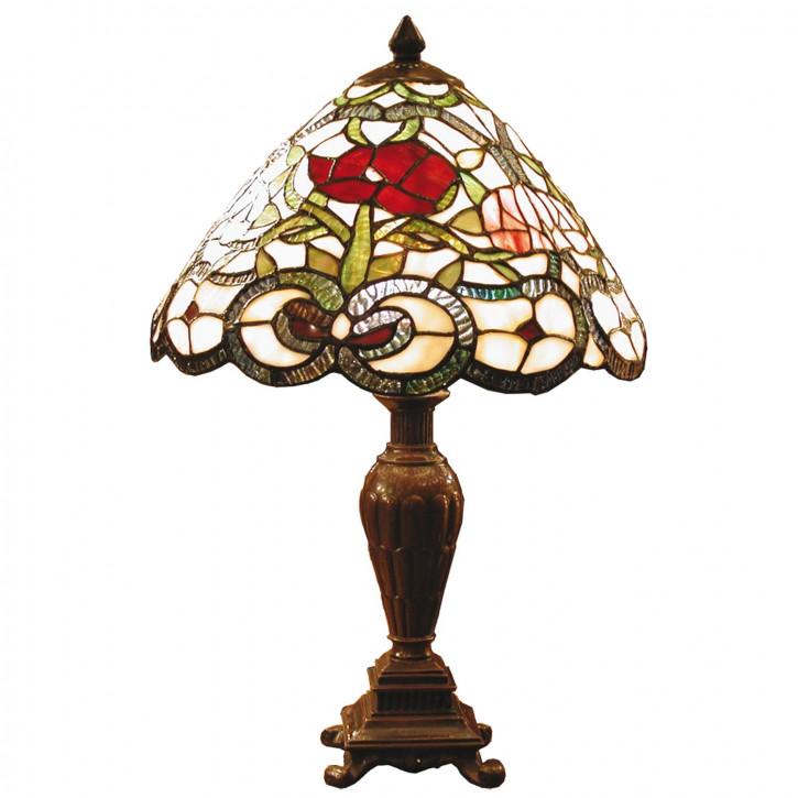 Tischlampe Tiffany Ø 32x47 cm E27/max 1x40W