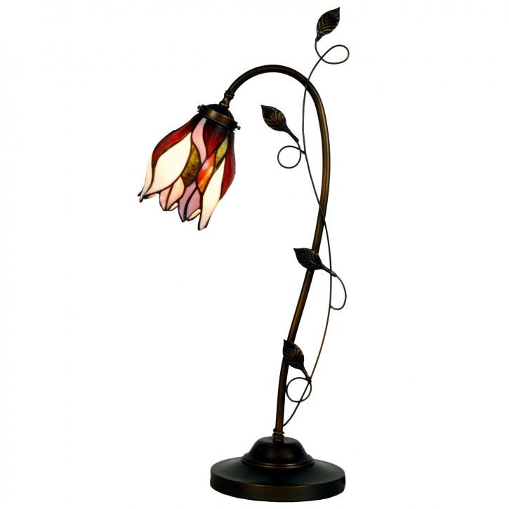 """Tischlampe, Tischleuchte, Lampe im Tiffany Stil """"Spring Blossom"""" 33x62cm"""
