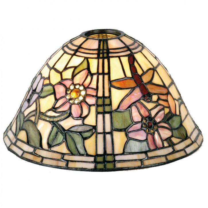 Tiffany Lampenschirm Blumen Ø 27cm