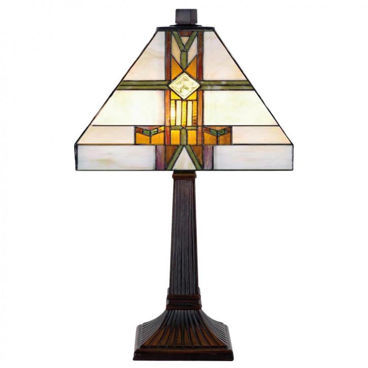 Tischlampe im Tiffany Stil 22x39cm