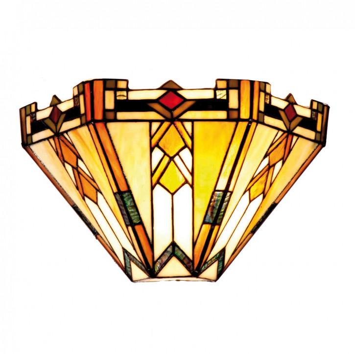 Wandlampe im Tiffany-Stil 32x19cm