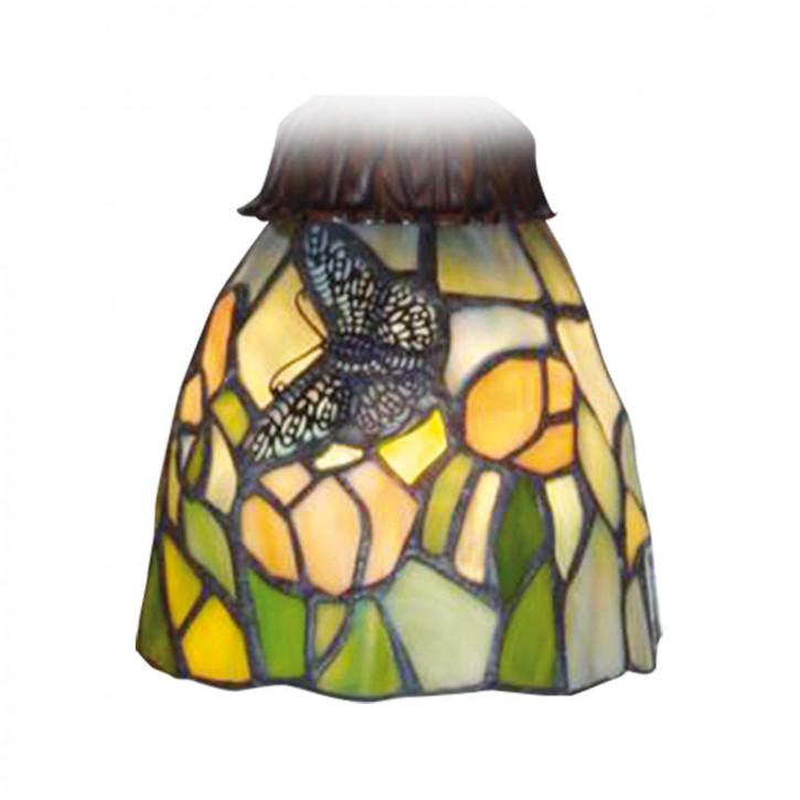 Lampenschirm Tiffany-Stil ca. 12 x Ø 11 x KH 6 cm E27
