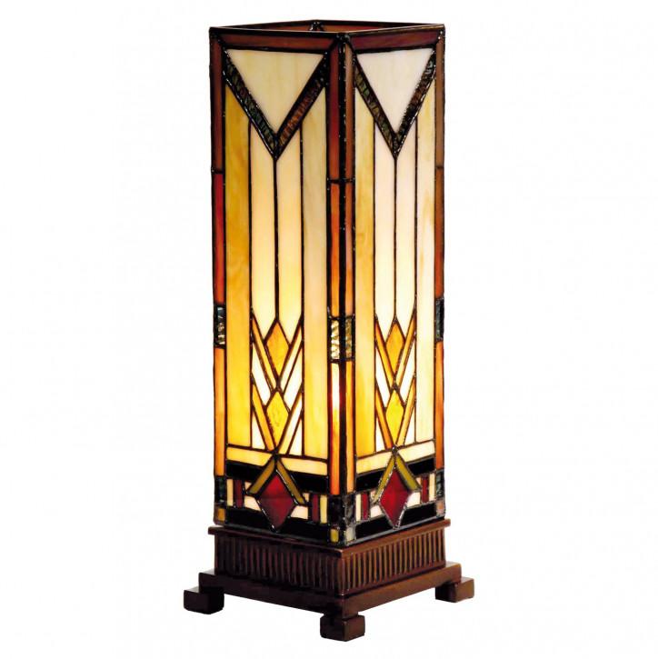 Tiffany Säulenlampe 35x12.5cm Triangle Style