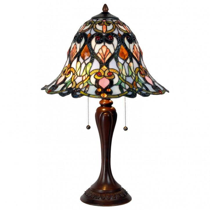 Tischlampe Tiffany-Stilca. 62 x Ø 40 cm