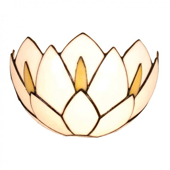 Wandlampe im Tiffany-Stil Wasserlilie 30x19cm