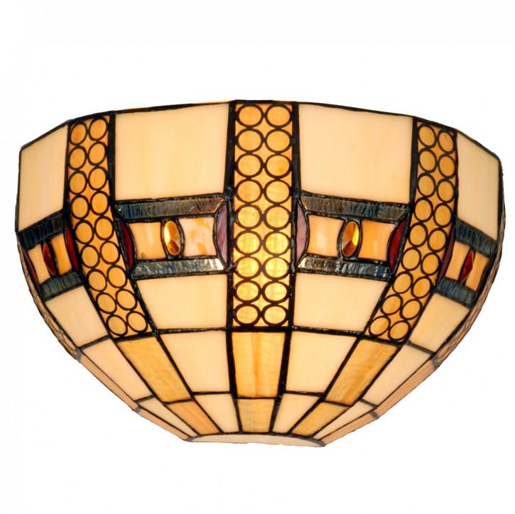 Wandlampe im Tiffany-Stil 32x18cm