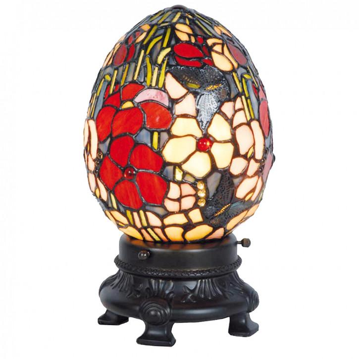 Tischlampe im Tiffany Stil 17x29cm