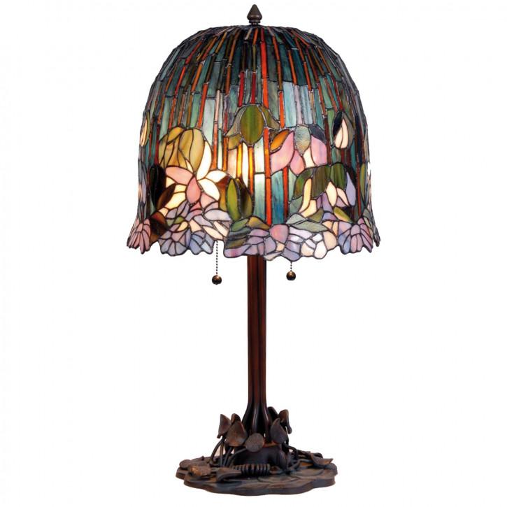 Tischlampe Tiffany Ø 35x68 cm E27/max 2x60W