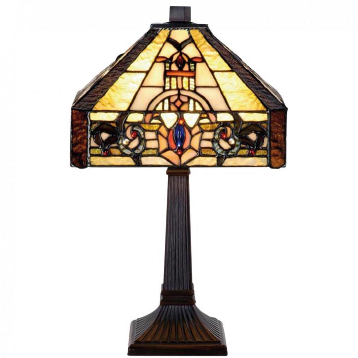 Tischlampe im Tiffany Stil 22x38cm