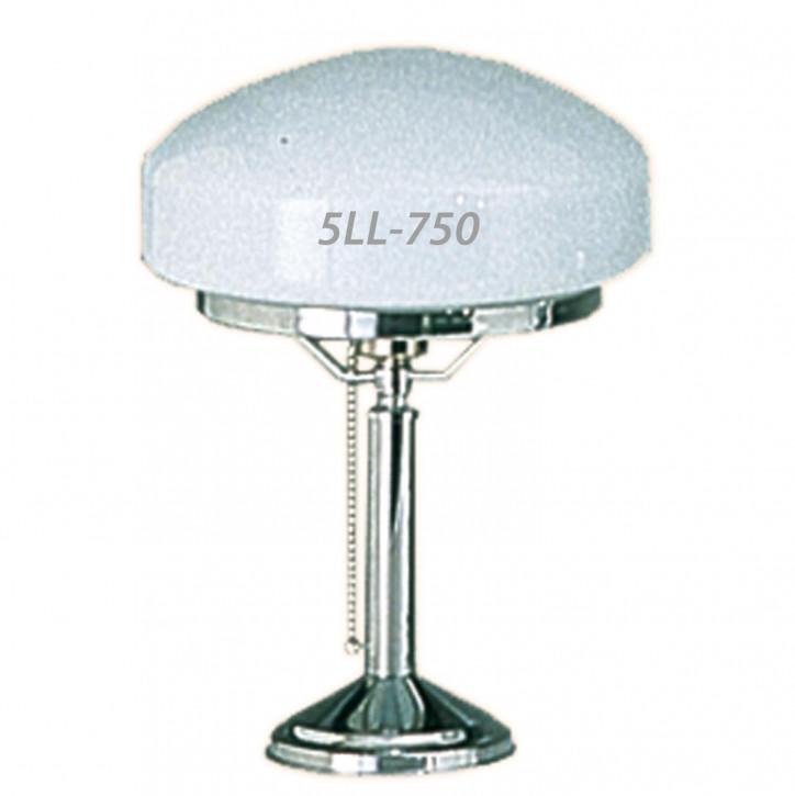 Tischlampe chrome 25 cm