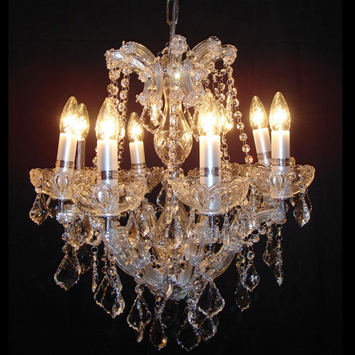 Kristalllampe komplett